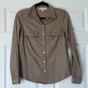 Michael Kors button down shirt. Size 2. Used.